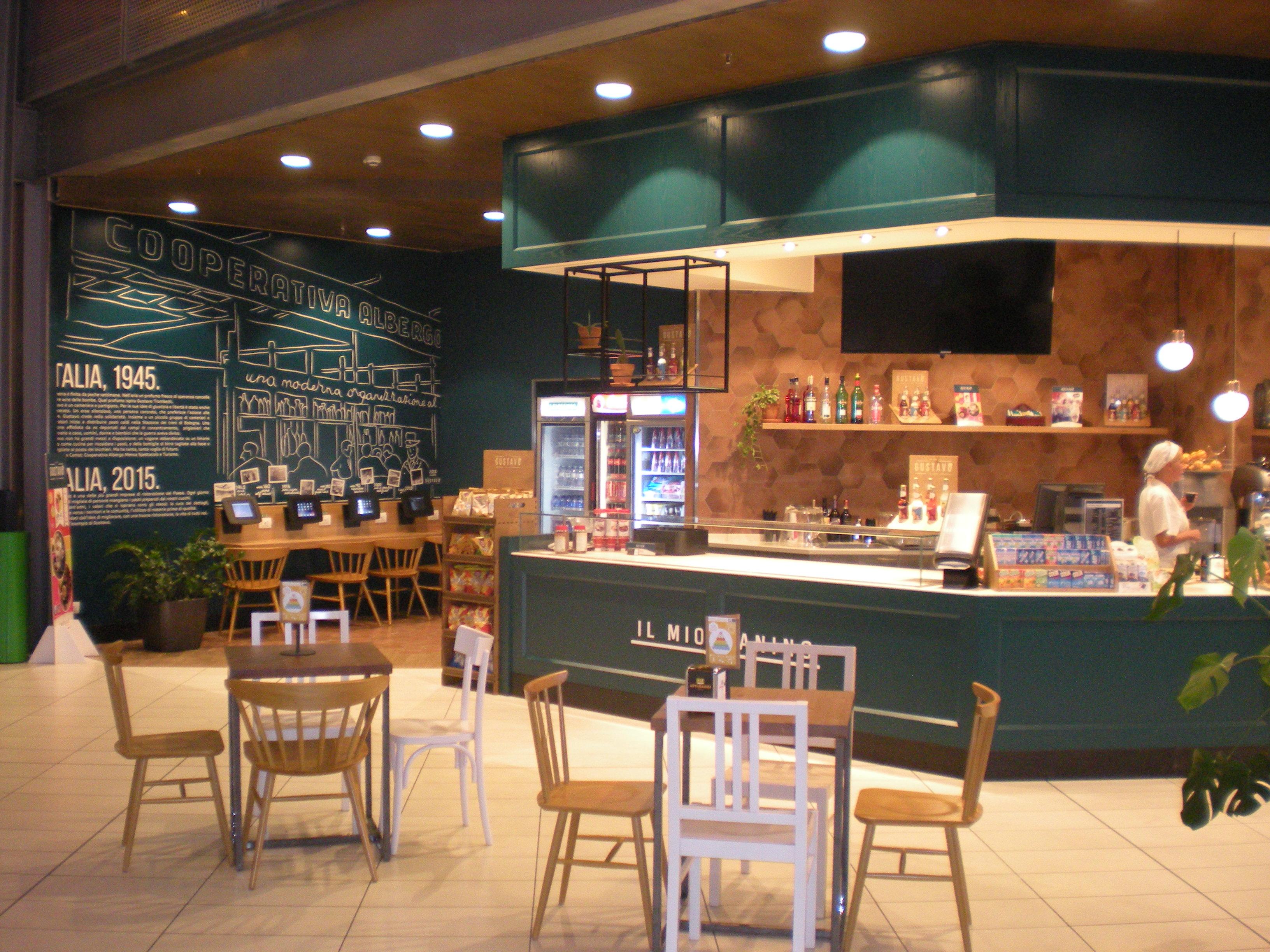 Arredamento su misura bar e ristoranti camst for Arredamento bar e ristoranti