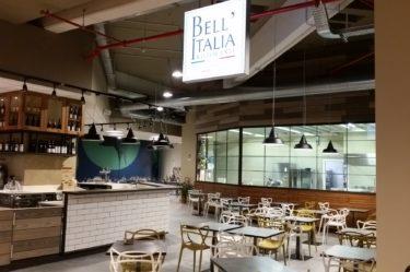 Ristorante Camst Bell'Italia situato all'interno del Parco Tematico F.I.C.O. (Bo)
